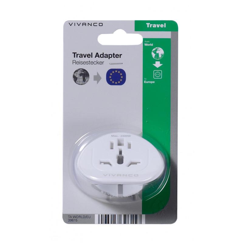 Vivanco reisiadapter World-EU (39615)