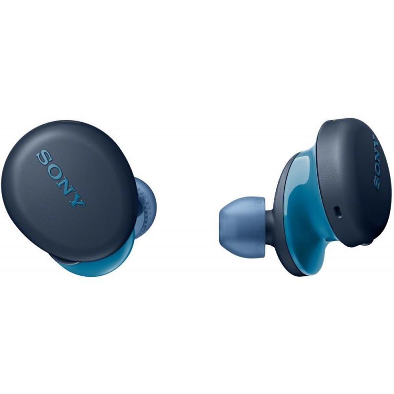 Sony juhtmevabad kõrvaklapid + mikrofon WF-XB700L, sinine