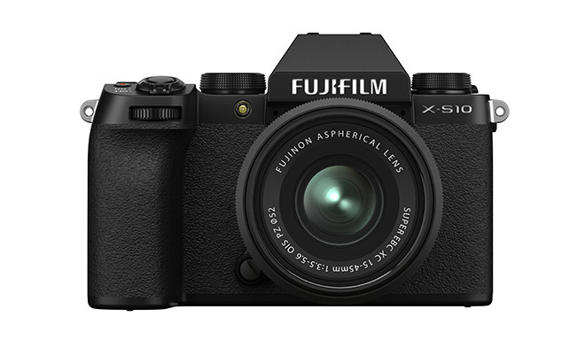 Fujifilm X-S10 + 15-45mm Kit, must