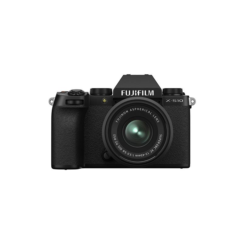 Fujifilm X-S10 + 15-45mm Kit, must