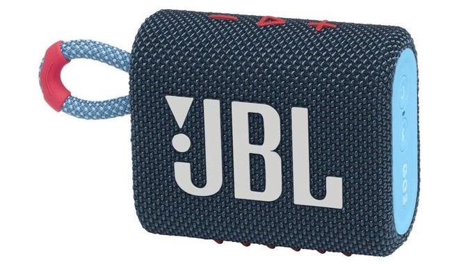 JBL juhtmevaba kõlar Go 3 BT, tumesinine