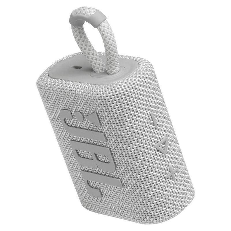 JBL juhtmevaba kõlar Go 3 BT, valge
