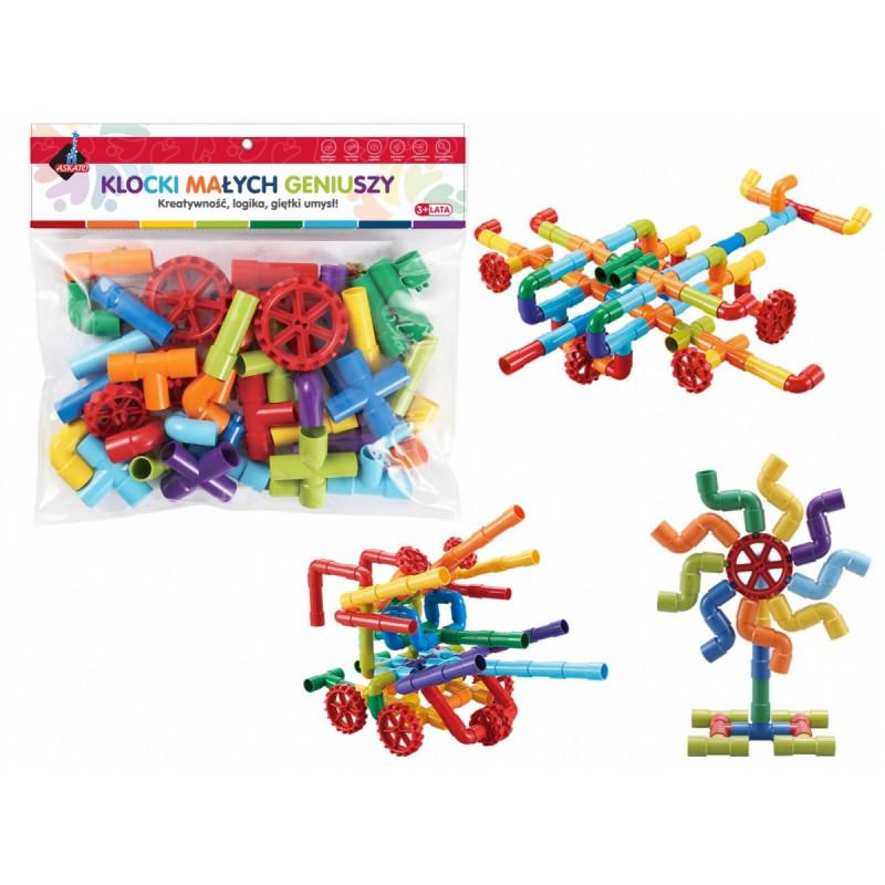 Askato toy blocks Educational 44pcs