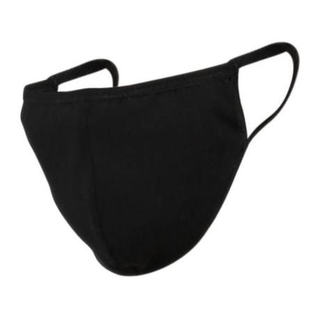 Многоразовая маска Passion Cotton, черная