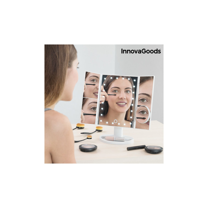 InnovaGoods magnifying mirror 4in1