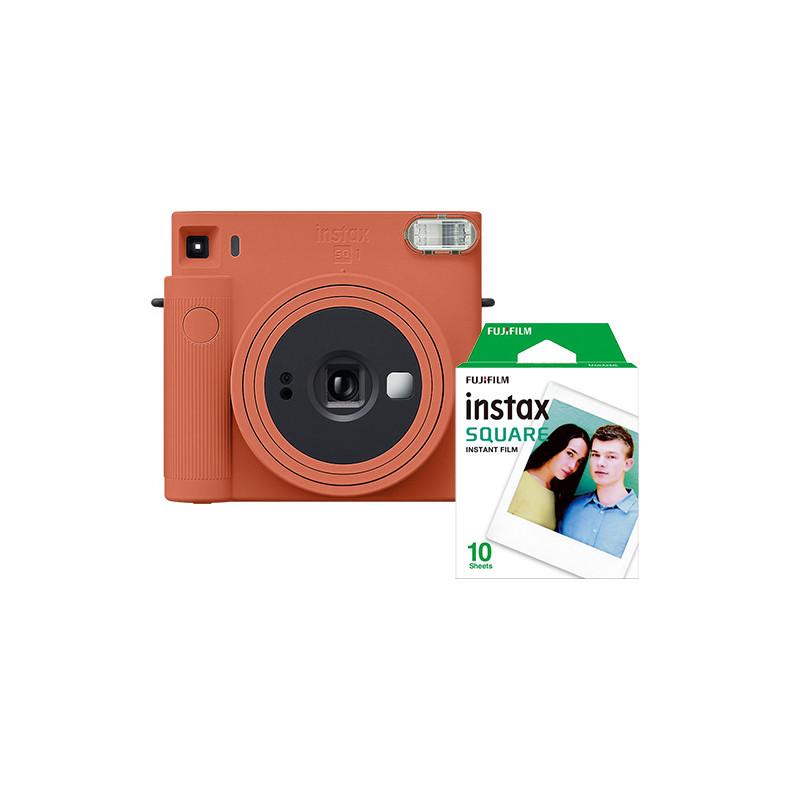Fujifilm Instax Square SQ1, terracotta orange + film