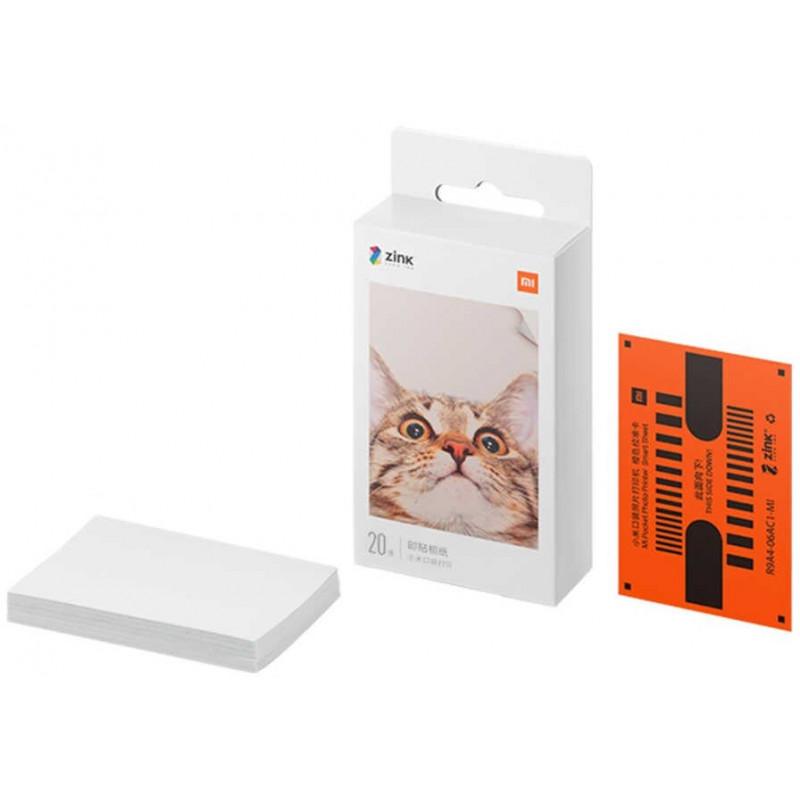 """Xiaomi Mi Portable Printer fotopaber 2x3"""" 20 lehte"""