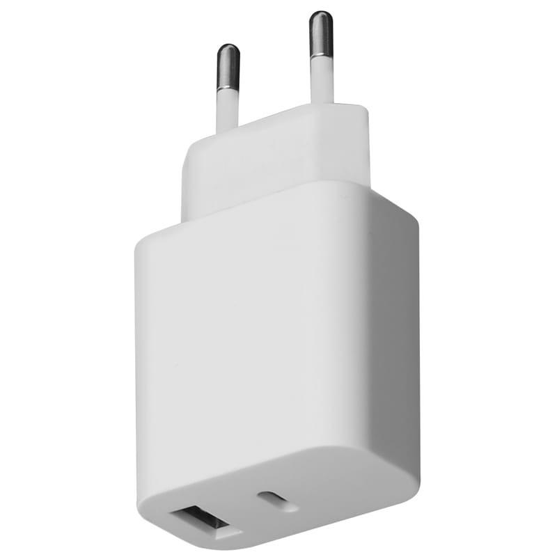 Platinet зарядное устройствоUSB/USB-C 30W (PLCUPD30W)