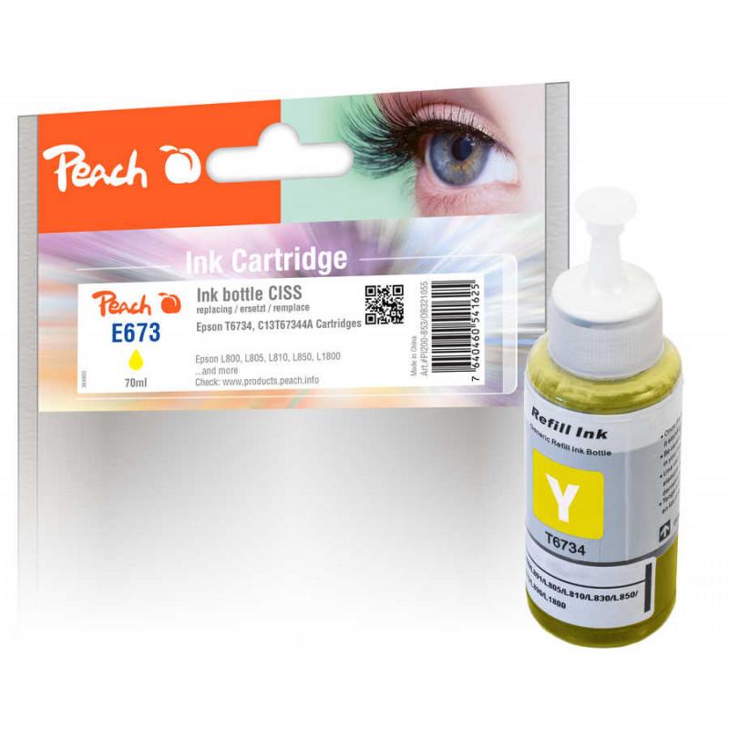 Peach ink T6734, yellow