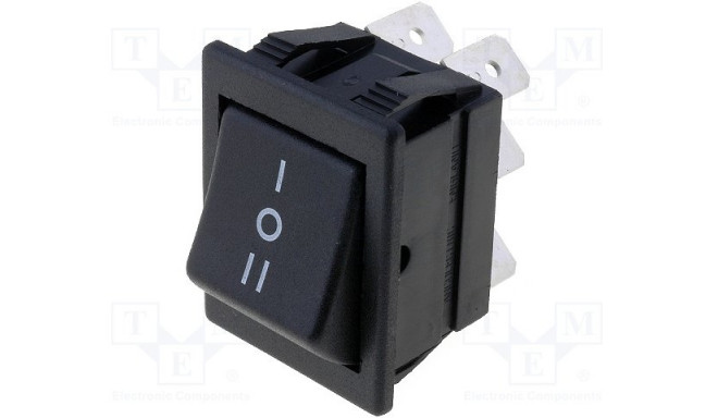 AE-C1570ALAAD ROCKER;ON-OFF-ON;Contacts:DP3T;Stable positions:3-position