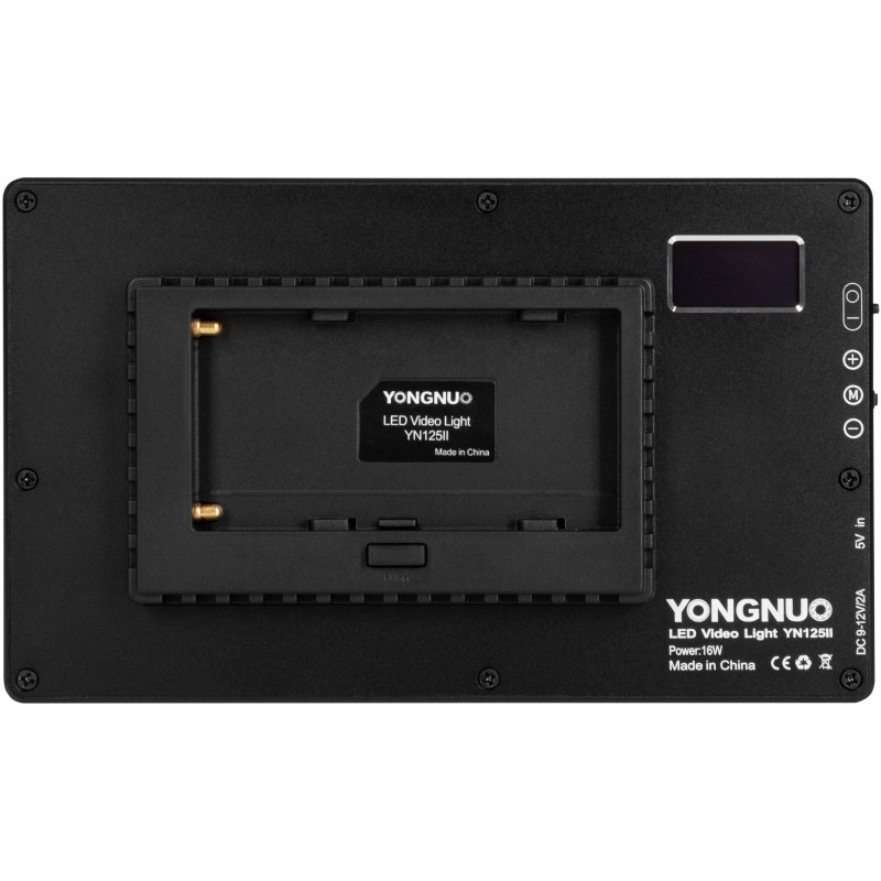 Yongnuo video light YN125 II LED WB