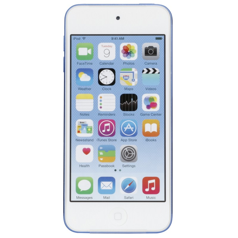 Apple Ipod Touch Blue 64gb 6 Generation Mp3 Players Photopoint