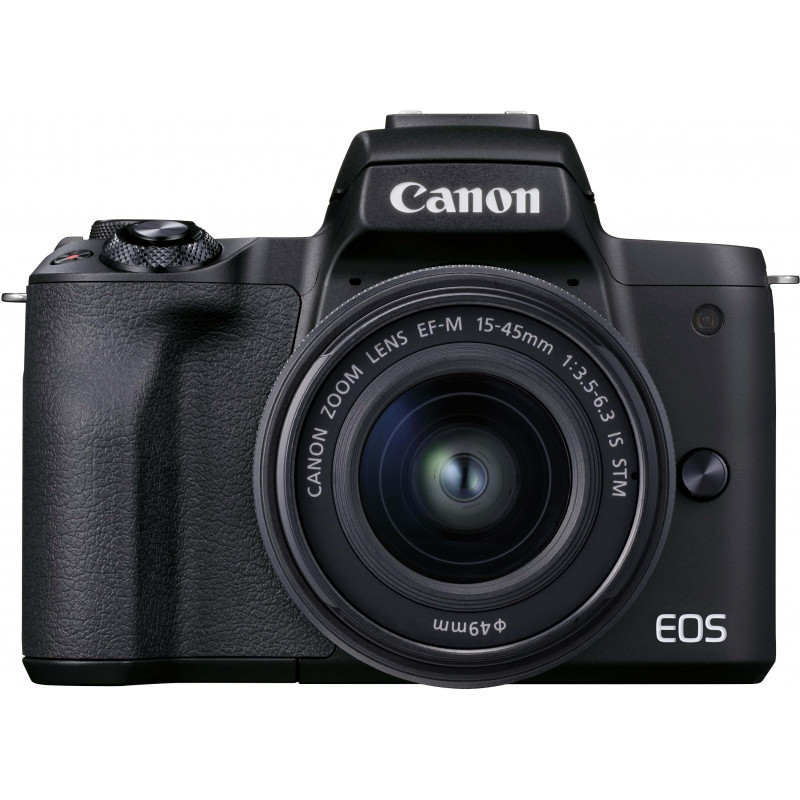 Canon EOS M50 Mark II + EF-M 15-45 mm, must