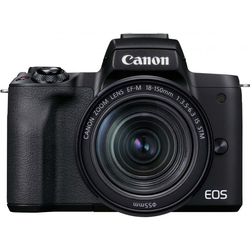 Canon EOS M50 Mark II + EF-M 18-150 mm IS STM, must