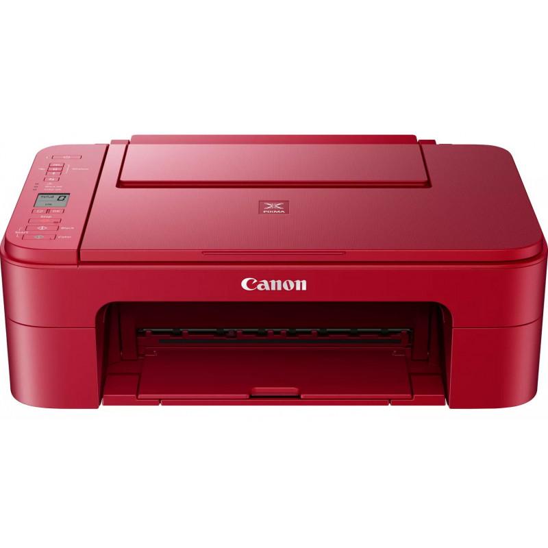 Canon kõik-ühes printer PIXMA TS3352, punane
