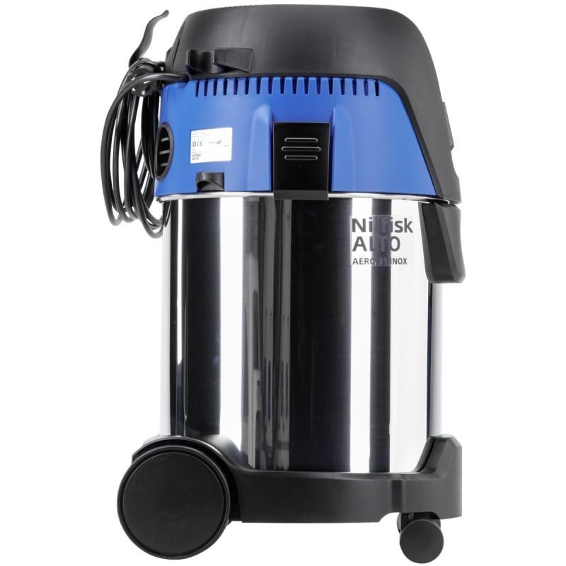 nilfisk vacuum cleaner aero 31 21 pc inox blue vacuum cleaners photopoint. Black Bedroom Furniture Sets. Home Design Ideas