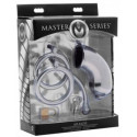 Master Series seksilelu Armor Chastity Cage