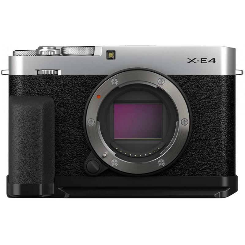 Fujifilm X-E4 + käepide MHG + TR Kit, hõbedane