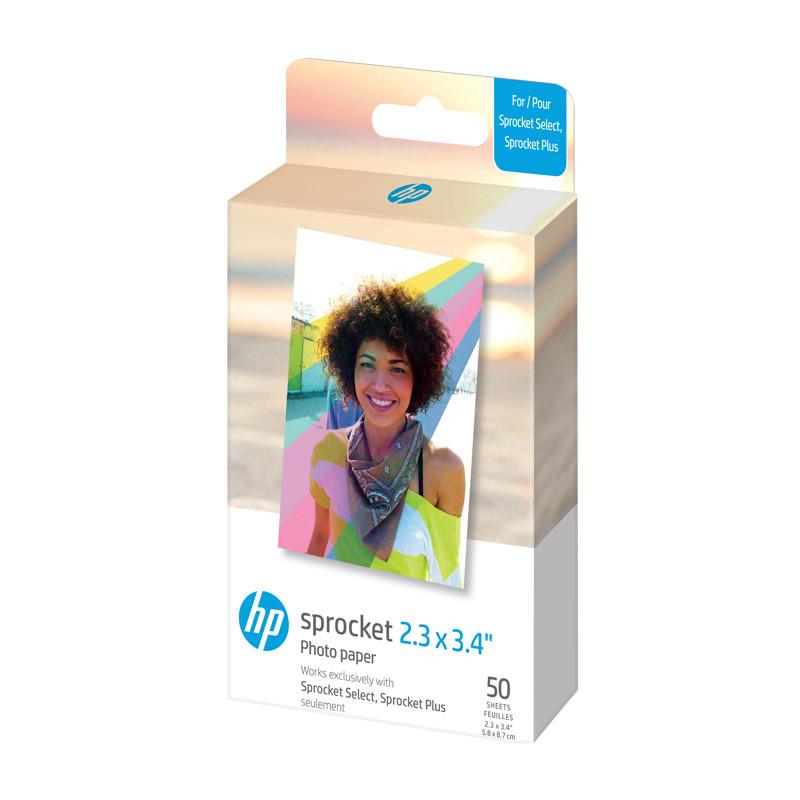HP fotopaber Sprocket Select Zink 5,8x8,6cm 50 lehte