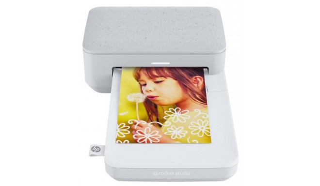 HP fotoprinter Sprocket Studio, valge