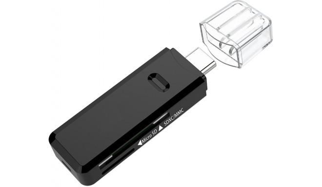 Platinet kaardilugeja microSD/SD USB-C (45282)