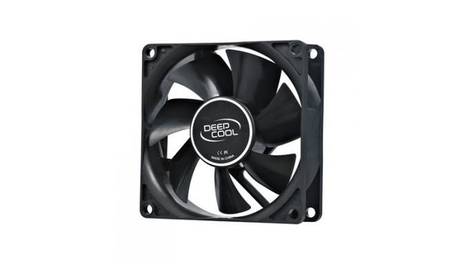 80mm case ventilation fan, 2 Pin; hydro bearing, deepcool