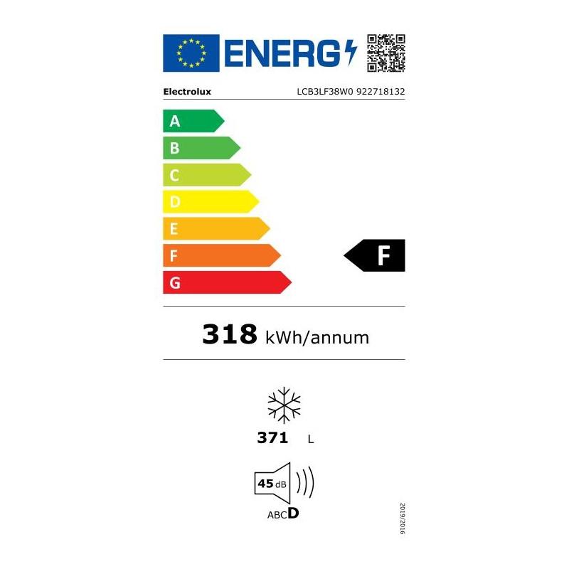 Electrolux saldētava (horizontāla), 371 l