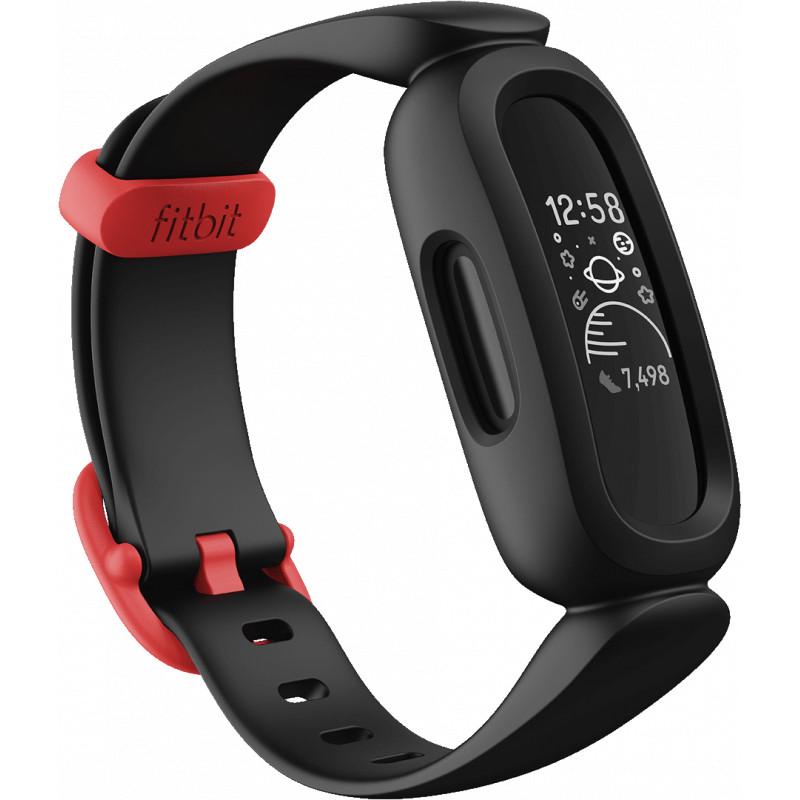 Fitbit aktiivsusmonitor lastele Ace 3, black/racer red