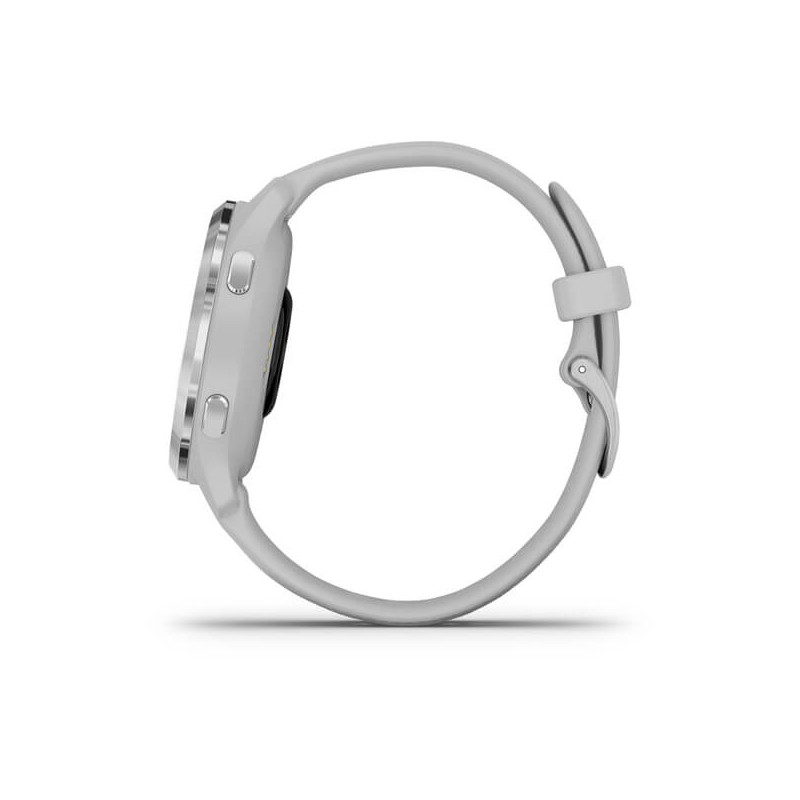 Garmin Venu 2S, silver/mist grey
