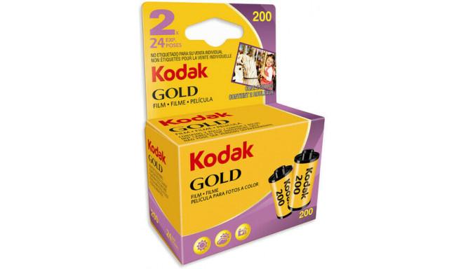 Kodak пленка Gold 200/24x2