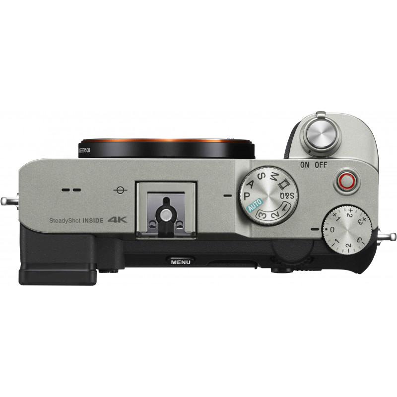 Sony a7C + Sony käepide-ministatiiv, hõbedane