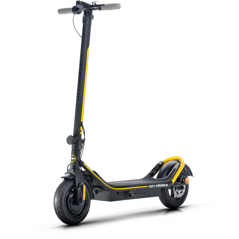 Ducati электрический самокат Scrambler City Cross E Black & Yellow