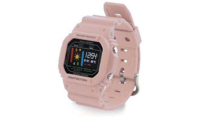 Ksix трекер активности Retro Smart, розовый