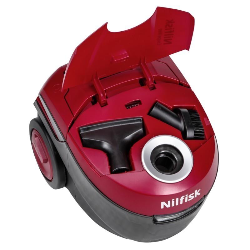 Lækker Nilfisk vacuum cleaner Coupe Neo Energy, red - Vacuum cleaners LI-24