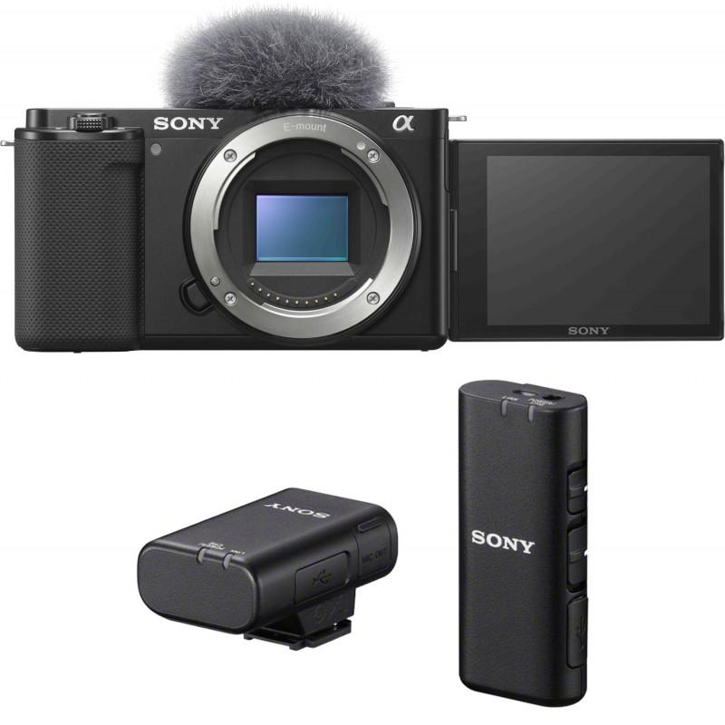 Sony ZV-E10 + juhtmevaba mikrofon