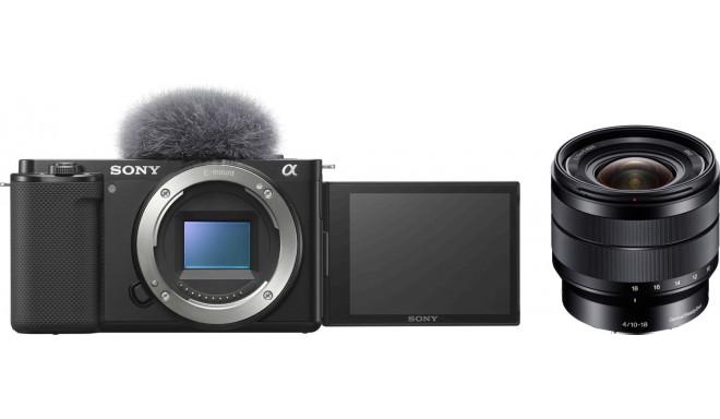 Sony ZV-E10 + 10-18mm f/4.0