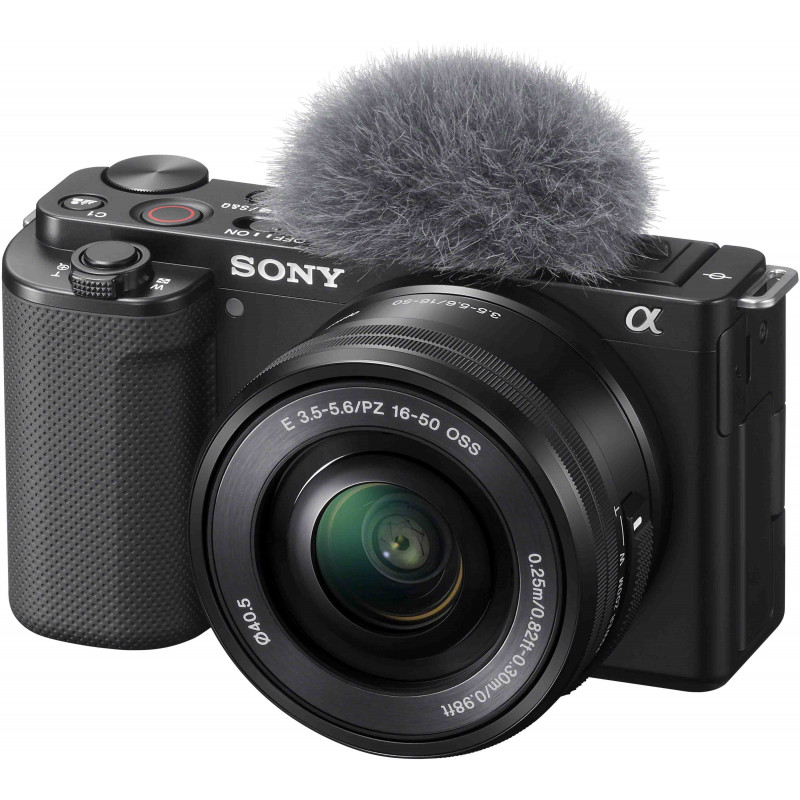 Sony ZV-E10 + 16-50mm + 10-18mm + беспроводной микрофон