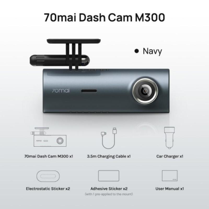 70mai видеорегистратор DVR M300, navy