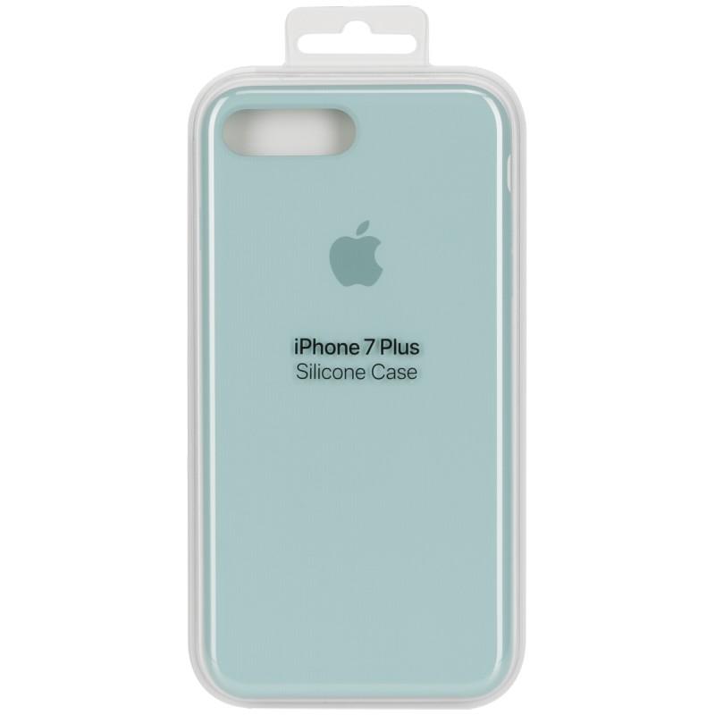 brand new 4eb85 23259 Apple Silicone Case iPhone 7 Plus, sea blue