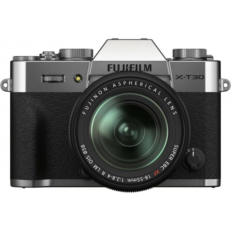 Fujifilm X-T30 II + 18-55mm Kit, hõbedane