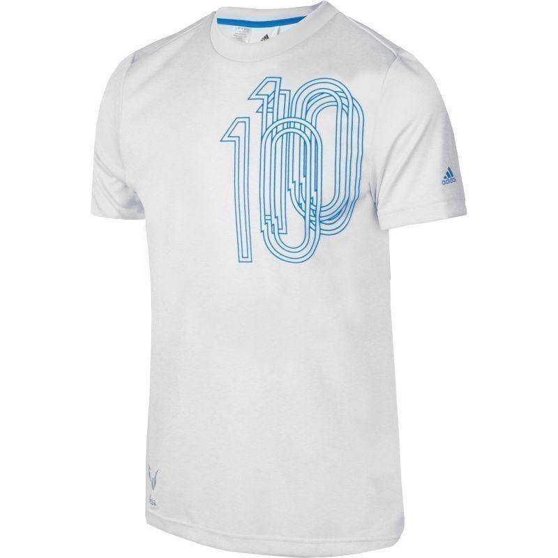 1ec12facec6 Children's sports shirt adidas Messi Icon Tee Junior AX6358 - Shirts ...