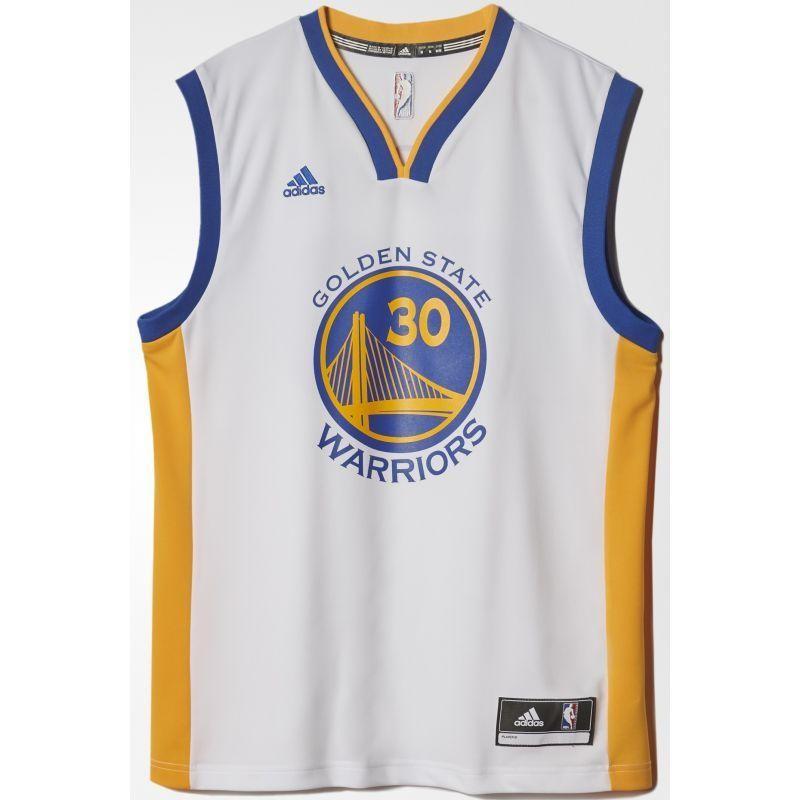 pretty nice 35b4d efeef Men's Basketball Shirt adidas Replica Golden State Warriors Stephen Curry M  A21107