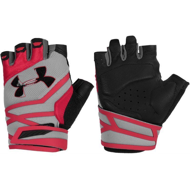 Under Armour Men/'s UA Weightlifting Gloves Half Finger Workout Gloves 1//2 Finger
