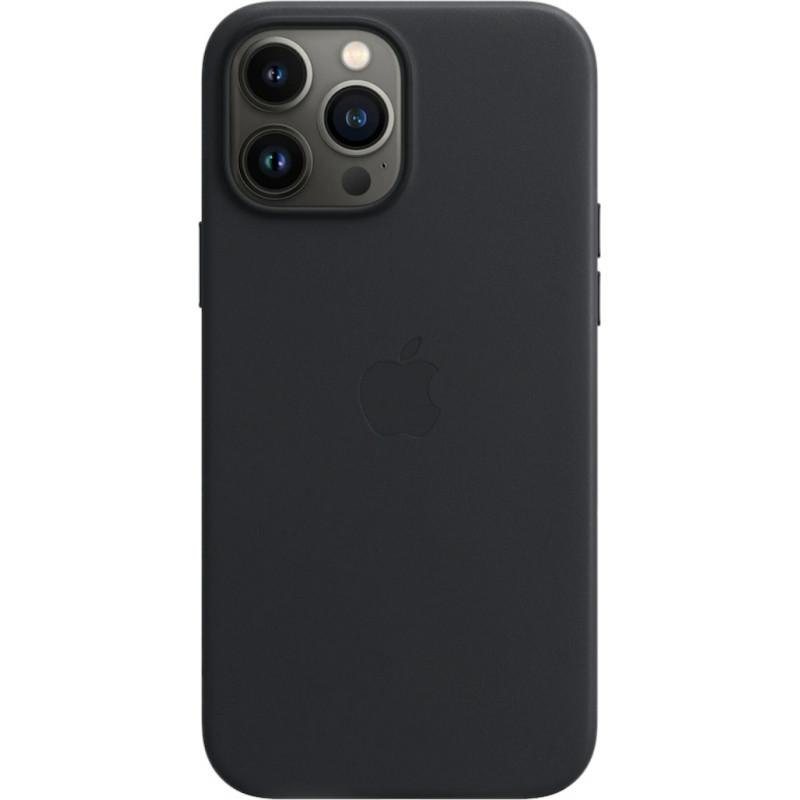 Apple kaitseümbris Leather Case iPhone 13 Pro Max MagSafe, midnight