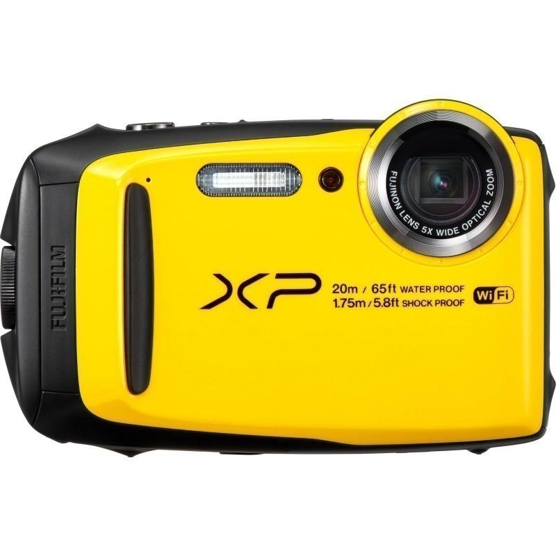Fujifilm FinePix XP120, kollane