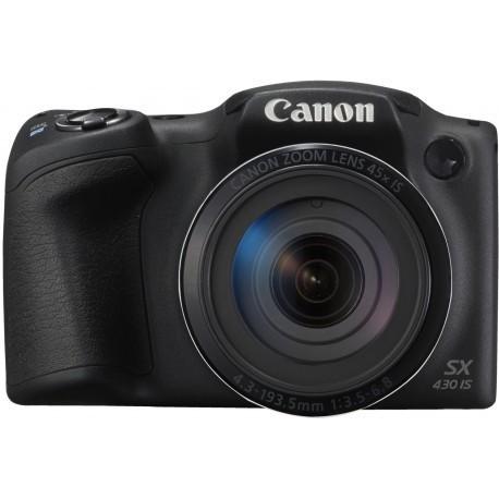Canon PowerShot SX430 IS, melns