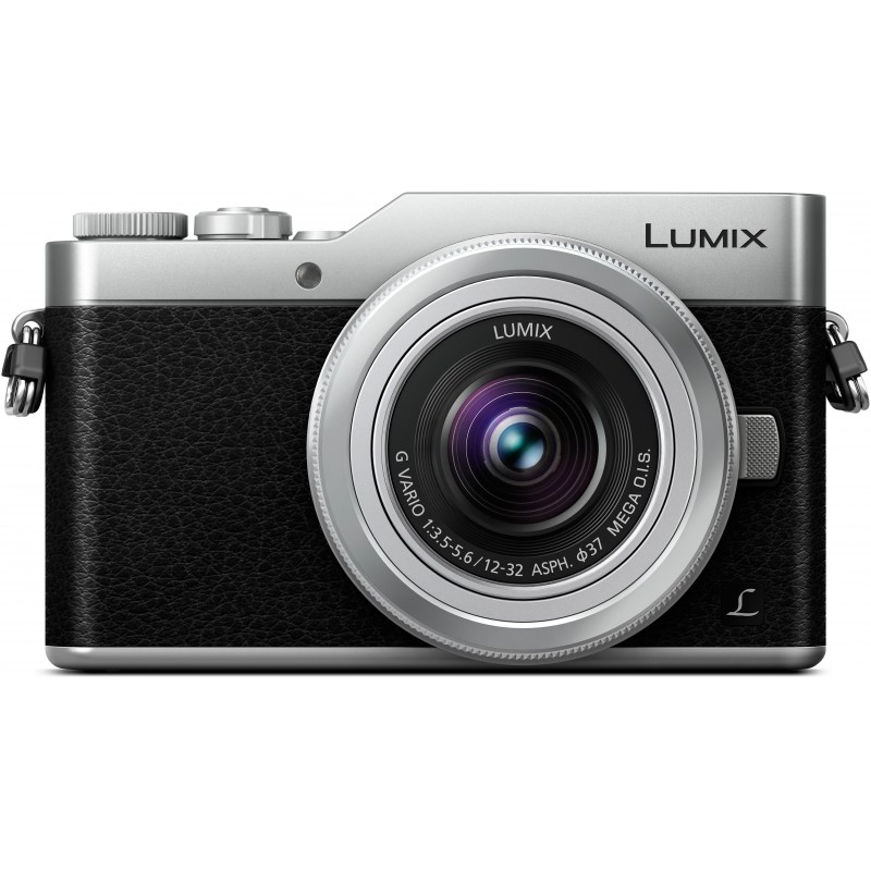 Panasonic Lumix DC-GX800 + 12-32mm Kit, must/hõbedane