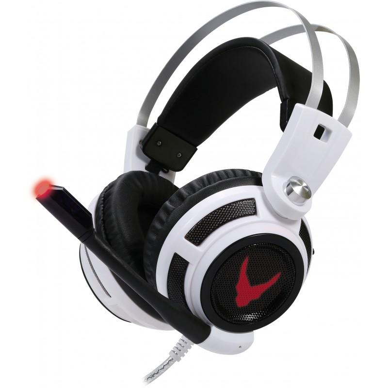 Omega kõrvaklapid + mikrofon Varr, valge (OVH4055)