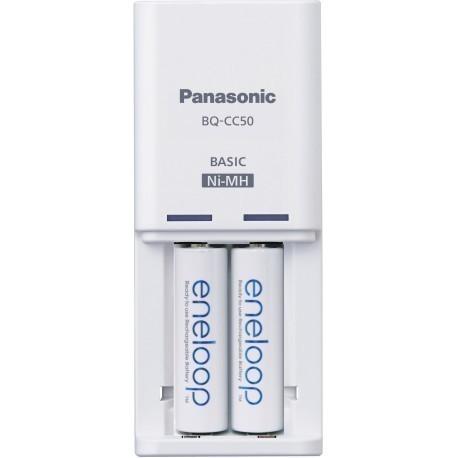 Panasonic eneloop laadija BQ-CC50 + 2x1900