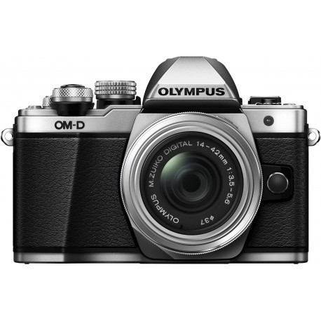 Olympus OM-D E-M10 Mark II + 14-42mm II R Kit, sudrabots